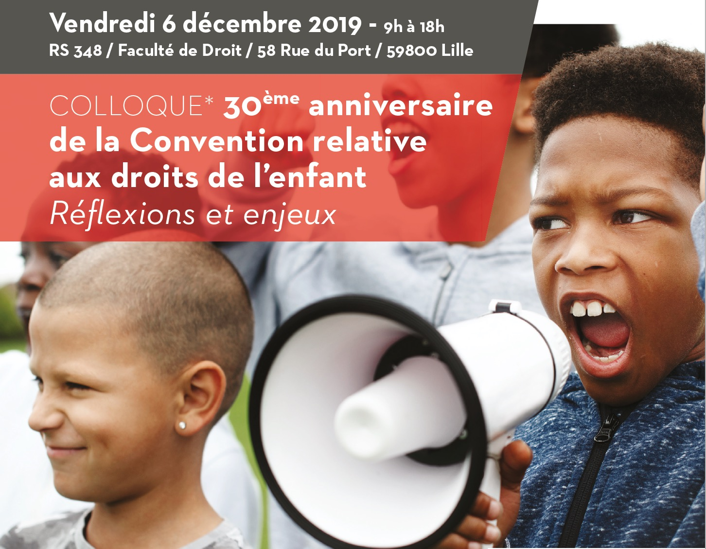 Colloque 30 ans convention droits enfants